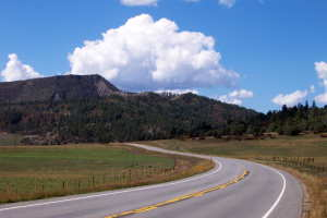 Heading west from Pagosa Springs
