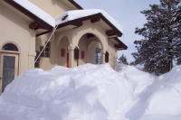 Snow gets deep during Pagosa winter
